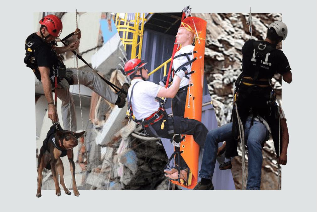 Instructor  viene a Perú ! Curso de rescate especializado, manejo de cuerdas, camillas, rescate con unidad canina, rescate vertical y horizontal, instalación de anclajes, etc.
