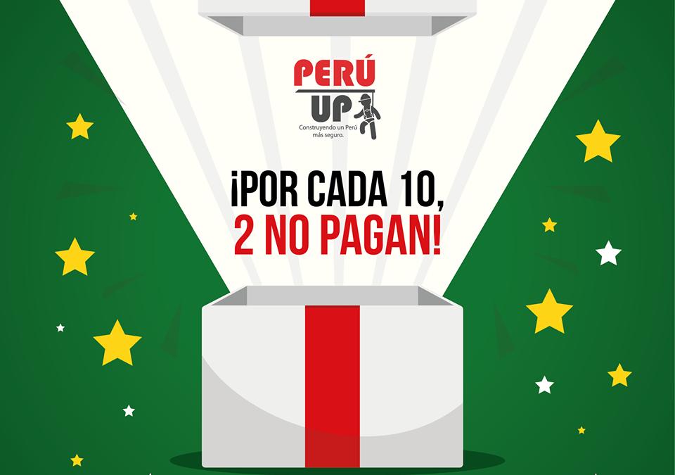 En Peru Up celebramos la navidad contigo!