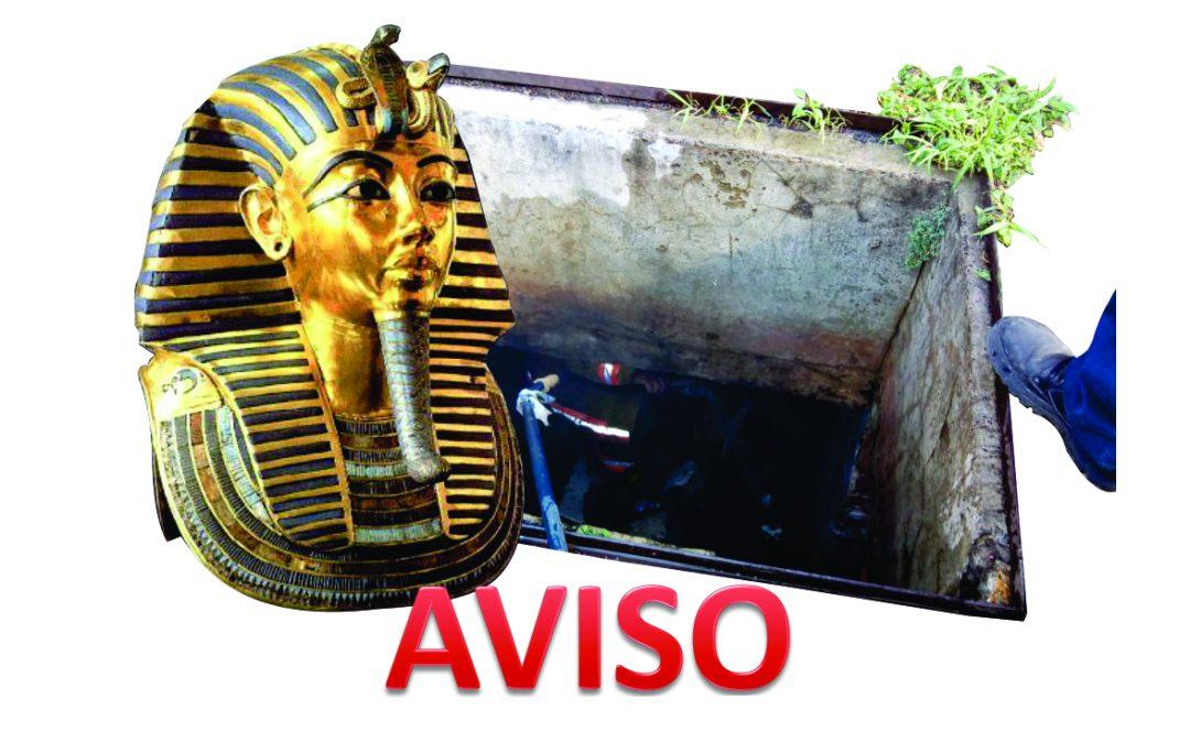 Que no te mate la maldición del faraón, SEGURIDAD EN ESPACIOS CONFINADOS