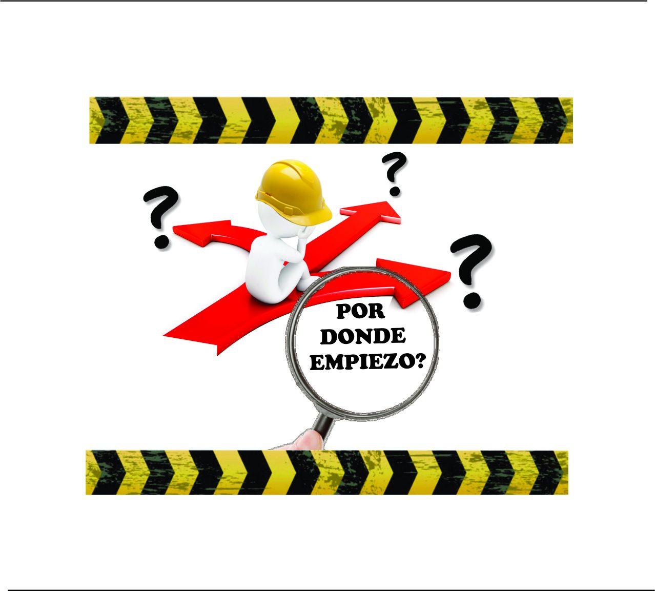 Como debes actuar antes de realizar labores de alto riesgo? Esquema a respetar para trabajar seguro