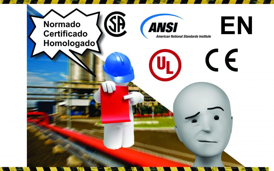 Hablemos de normativas, certificaciones, ¿y por qué no? también de homologaciones de equipos de protección.