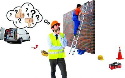 Son seguras las escaleras portátiles? No las subestimes, son una de las principales causas de accidentes en la industria.
