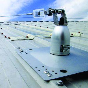 Roofsafe anchor&cable ( Linea de vida horizontal de cable )